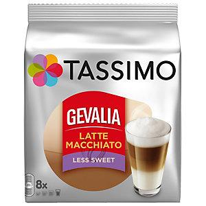 Tassimo kapslar Gevalia Latte Macchiato - mindre socker