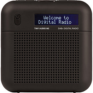 Tiny Audio M3 FM/DAB+ radio (musta)