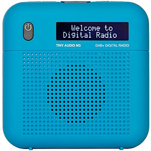 Tiny Audio M3 FM/DAB+ radio (sininen)
