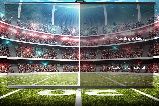 Kontrastniveau - forskellen mellem de mørkeste og lyseste områder i billedet