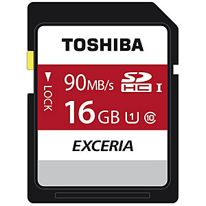 Toshiba Exceria N302 SDHC-kort 16 GB