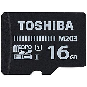Toshiba M203 Micro SDHC-kort 16 GB