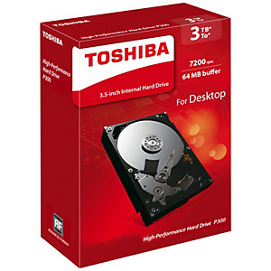 "Toshiba P300 3.5"" intern hårddisk (3 TB)"