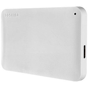 Toshiba Canvio Ready 2 TB ekstern harddisk (hvit)
