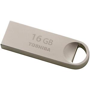 Toshiba TransMemory U401 flash drive 16 GB (metall)