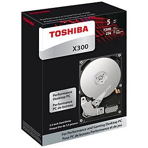 "Toshiba X300 3,5"" intern harddisk (5 TB)"