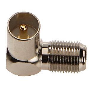 Triax Antenn adapter F hona till IEC hane (2-pack)