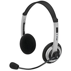 Trust Stereo Headset Comfortfit (svart)