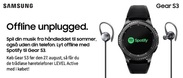 Samsung Gear S3 bundle campaign