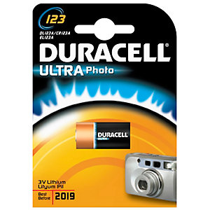 Duracell Ultra 123 paristo