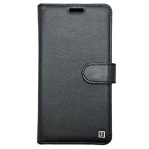 Uunique Folio iPhone X plånboksfodral (svart)