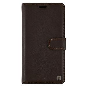 Uunique Folio iPhone X plånboksfodral (brun)