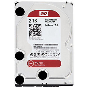 "WD Desktop Red 3.5"" intern HDD til NAS (2 TB)"