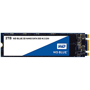 WD Blue sisäinen M2.SSD muisti 2 TB