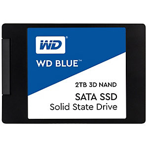 "WD Blue 2,5"" intern SSD 2 TB"