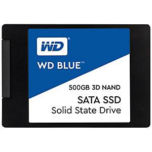 """WD Blue 2.5"""" sisäinen SSD-muisti 500 GB"""