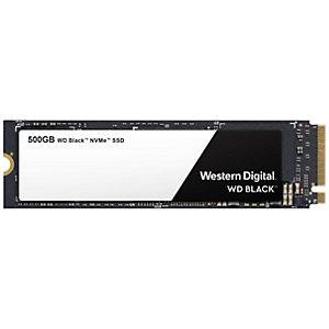 WD Black NVMe M.2 SSD-lagring 500 GB