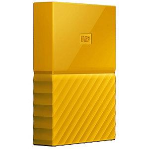 WD My Passport 2 TB bærbar harddisk (gul)