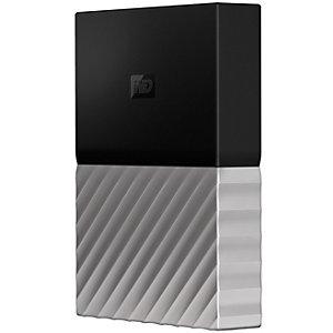 WD My Passport Ultra 4 TB extern hårddisk (svart/grå)
