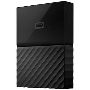 WD My Passport 4 TB för PS 4 portabel HDD (svart)