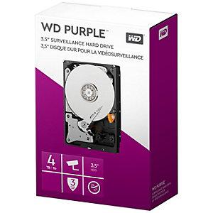 """WD Purple Surveillance 3,5"""" intern harddisk (4 TB)"""