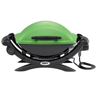 weber q 1400 elektrisk grill 52070053 gr nn grill og grilltilbeh r elkj p. Black Bedroom Furniture Sets. Home Design Ideas