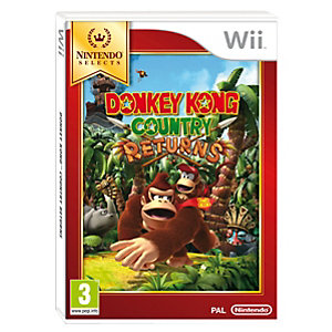 Donkey Kong Country Returns: Select (Wii)