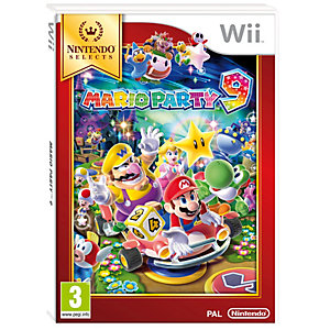Mario Party 9: Nintendo Selects (Wii)