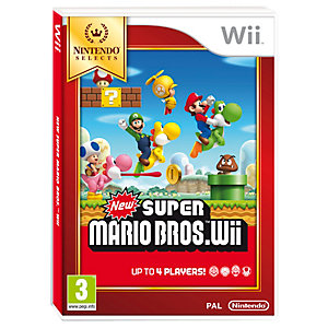 New Super Mario Bros: Nintendo Selects (Wii)