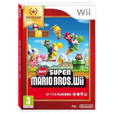 New Super Mario Bros: Nintendo Selects - Wii - Spil - Elgiganten