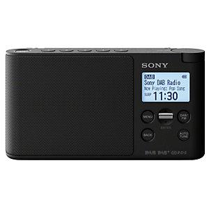 Sony DAB+ radio XDR-S41D (svart)