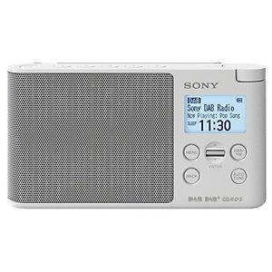 Sony DAB+ radio XDR-S41D (vit)