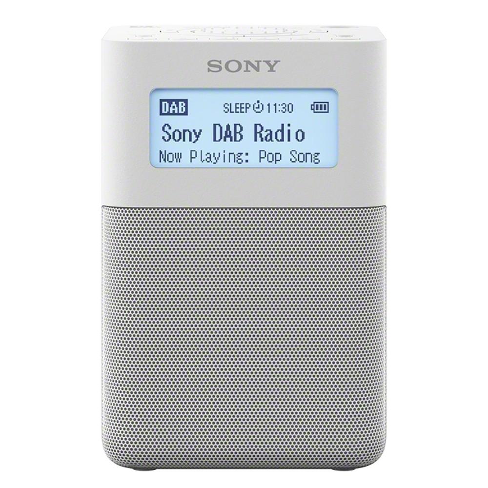 XDRV20DW.EU8 : Sony DAB+ radio XDR-V20D (hvit)