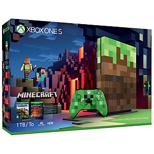 Xbox One S 1 TB: Minecraft limited edition