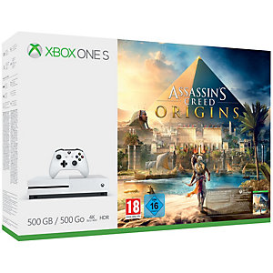 Xbox One S 500 GB + Assassins Creed Origins (white)