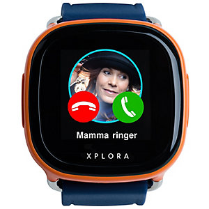 Xplora telefonklocka för barn (orange/blå) - 99:-/mån