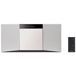 Pioneer Hi-Fi mikrosystem X-SMC02D (hvit)