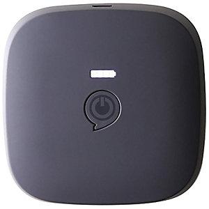 Zens Qi 10400mAh portabel powerbank (svart)