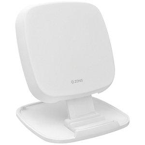 Zens Qi 10W trådlös laddhållare (vit)