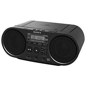 Sony ZS-PS55B CD soitin DAB+/FM radio (musta)