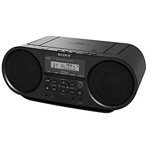 Sony ZS-RS60BT CD Boombox med Bluetooth (svart)