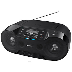 Sony ZS-RS70BTB CD Boombox med Bluetooth (svart)