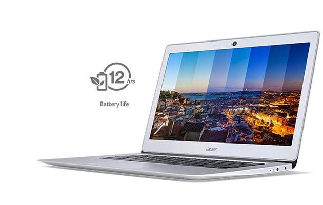 Med Acer Chromebook får du et batteri som virker. Når du trenger det.