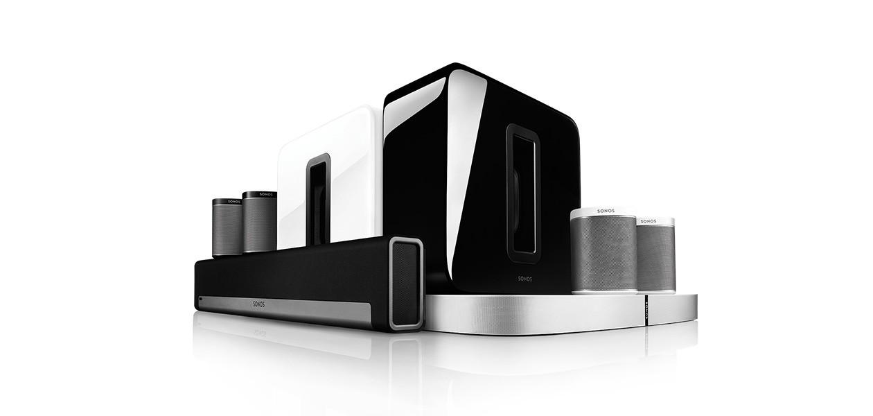 Sonos trådløse høyttalere og musikksystem