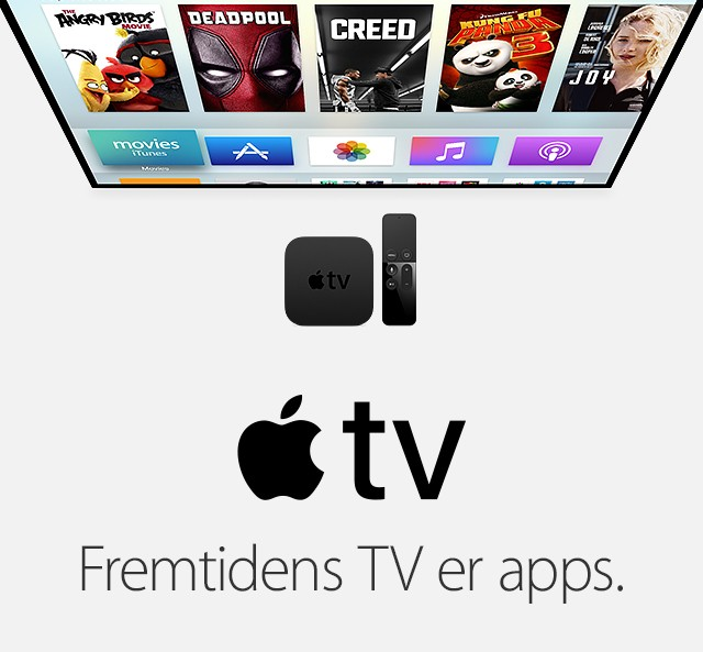 Apple TV - fremtidens TV