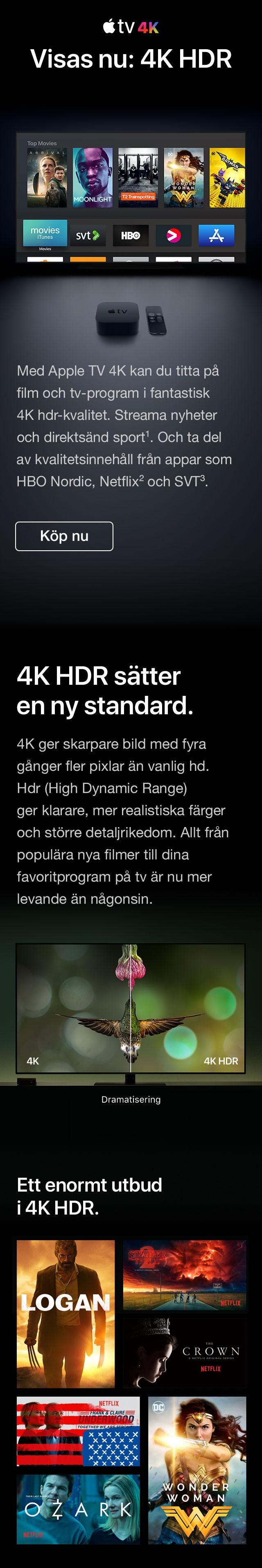 Apple TV – framtidens tv är här