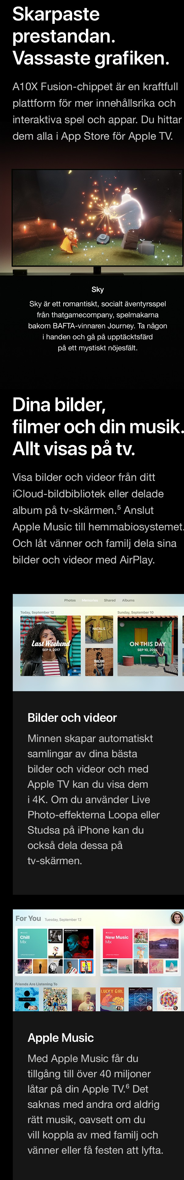 Köp Apple 4K TV nu