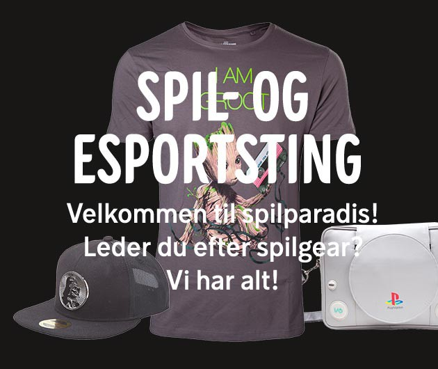 Gaming og eSport merchandise