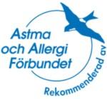 Rekommenderas av Astma och Allergiförbundet