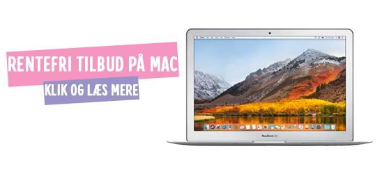 Rentefri finansiering på Mac